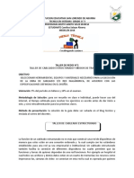 TALLER DE REDES  N°2, CABLEADO