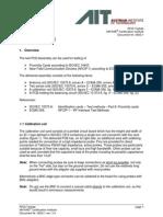 Test PCD Assembly