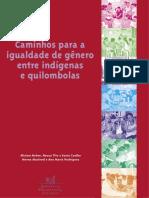 Caminhos para a igualdade de gênero entre indígenas e quilombolas