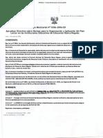 NORMA DE ORIENTACIÓN DE IMPLEMENTACIÓN DE PLAN LECTOR -  PERU - RM-N°-0386-2006-ED