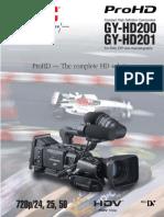 GY HD200 Preliminary