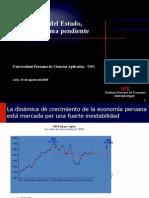 Presentacion Upc Reforma Del Estado 16082005
