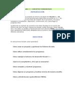 1.- Visual C++ conceptos y herramientas