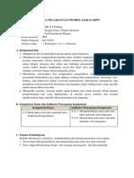 RPP KD 3.5 Alat Ukur Mekanik