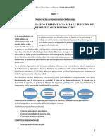 DOCUMENTO 1. La Participación Ciudadana.