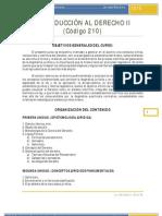 Programa curso INTRODUCCIÓN AL DERECHO II FINAL