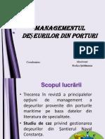 managementul deseurilor din   porturi.ppt