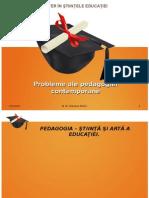 Probleme Ale Pedagogiei Contemporane