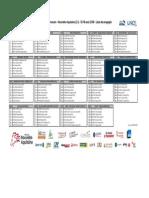 Liste Des Engagés - TDLNA 2018