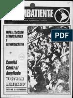 Revista El Combatiente - PRT Nº 105
