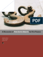 Time Series Objects for R in Finance