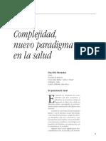 Complejidad Un Nuevo Paradigma en La Salud
