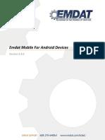 Emdat Mobile Android Manual 2.4.0