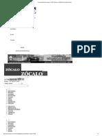 Acusan Basificación Opaca en ALDF