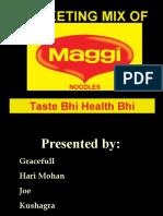 Maggi- Marketing Mix