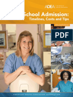 ADEA Dental School Admission Timelines Costs and Tips