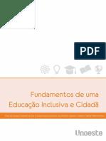 Fundamentos de Uma Educação Inclusiva e Cidadã