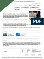 Future Group Partners New Zealand Dairy Giant Fonterra