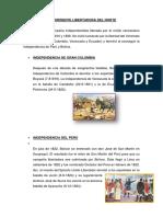 Resumen Corto de La Corriente Libertadora Del Norte