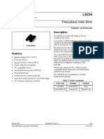 L6234 Three-phase motor driver