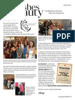 Sheryl's August 2018 Newsletter