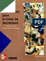 Análisis Cuantitativo para la toma de decisiones