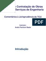 Licitação e Contratação de Obras Públicas e Serviços de Engenharia