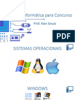 Sistemas Operacionais - Windows 7, Windows 8.1 , Windows 10 e Linux