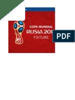 MUNDIAL 2018-1 Fixture en Excel
