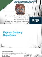 2.4.1. Flujo en Ductos y Superficies