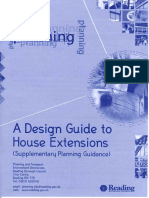 Design Guide to House Extensions
