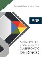 Manual de Acolhimento e Classificação de Risco Da Rede Ses DF