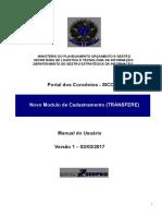 1-Manual Novo Modulo de Cadastramento TRANSFERE Vs1 07032017