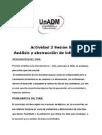 Actividad 2 Sesión 5 Análisis y Abstracción de Información (1)