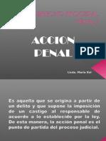 Derecho Procesal Penal Accion Penal