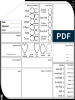 Character Sheet by Robin Dwyer Hickey r1