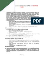 Memorandum of Agreement Sample_1