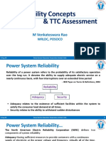 Reliability Concepts & TTC Assessment-22.06.18