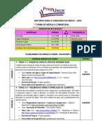 Planej. 2 Turma - Raciocinio Logico_prepuece - 01 a 07-05-2018