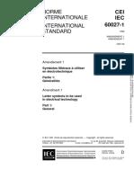 IEC 60027-1-1992 amd1-1997