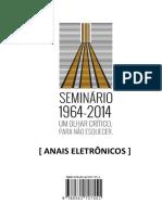 Anais do Seminário 1964-2014