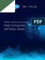 Kbmax, Salesforce & Simplus Help Companies Sell More, Faster