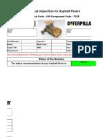 TA1 English - Asphalt Paver