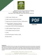 DOA Board Agenda Packet Aug 1, 2018