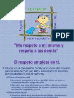 Me Respeto a Mi Mismo y Respeto Colegio Senda 20012 2013
