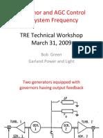 TRE Workshop Gov and AGC 20090331