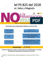Analisis Charter Schools and Puerto Rico