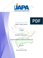 Tarea 1 de Educacion Para Las Diversidad(Josefa Perez)