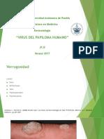 Dermatología Virus Del Papipoloma Humano