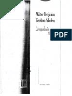 BENJAMIN, W. y SCHOLEM, G., Correspondencia. 1933-1940, Trotta, 2011.pdf
